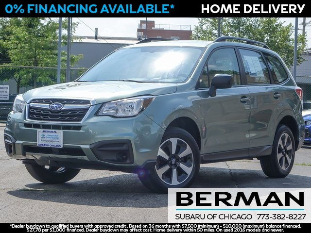 Certified Pre-Owned 2017 Subaru Forester 2.5i