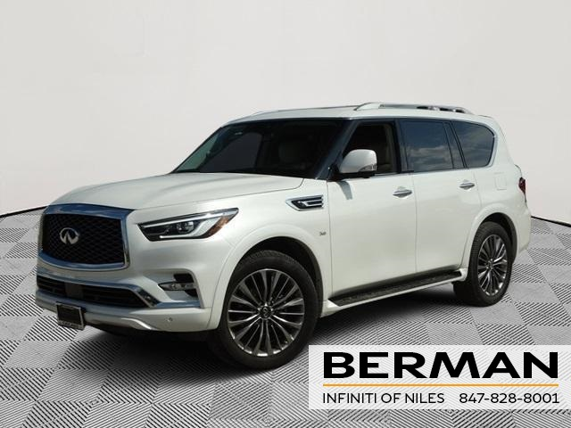 New 2019 Infiniti Qx80 Luxe 4d Sport Utility In Niles In119 Star
