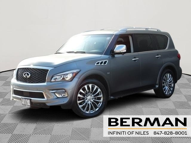 Certified Pre-Owned 2015 INFINITI QX80 Base