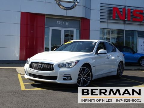 Certified Pre-Owned 2016 INFINITI Q50 Hybrid Base